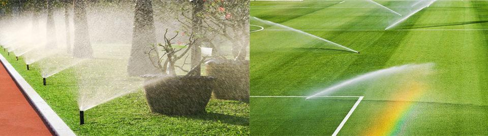 Návrhy a realizácie automatických závlahových systémov od malých záhrad až po ihriská