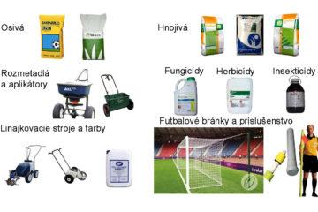 Predaj a distribúcia produktov pre trávnik