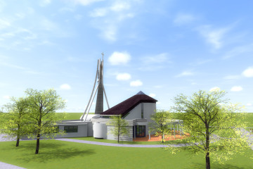 Ladce - nový kostol